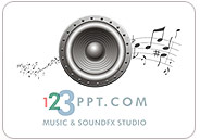 Fade in music, fade out music, cross fade between music tracks, loop, add sound effects to slide transitions and custom animations and narrate your PowerPoint presentation with the 123PPT Music & SoundFX Studio